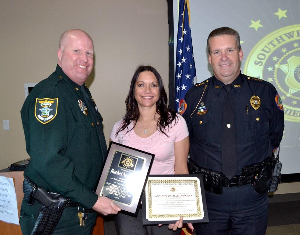 Lee County Sheriff's Analyst Rachel Newman
